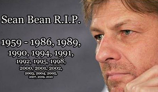 Sean Bean RIP